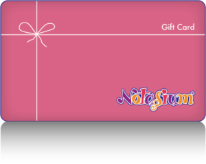 Notasium Gift Cards