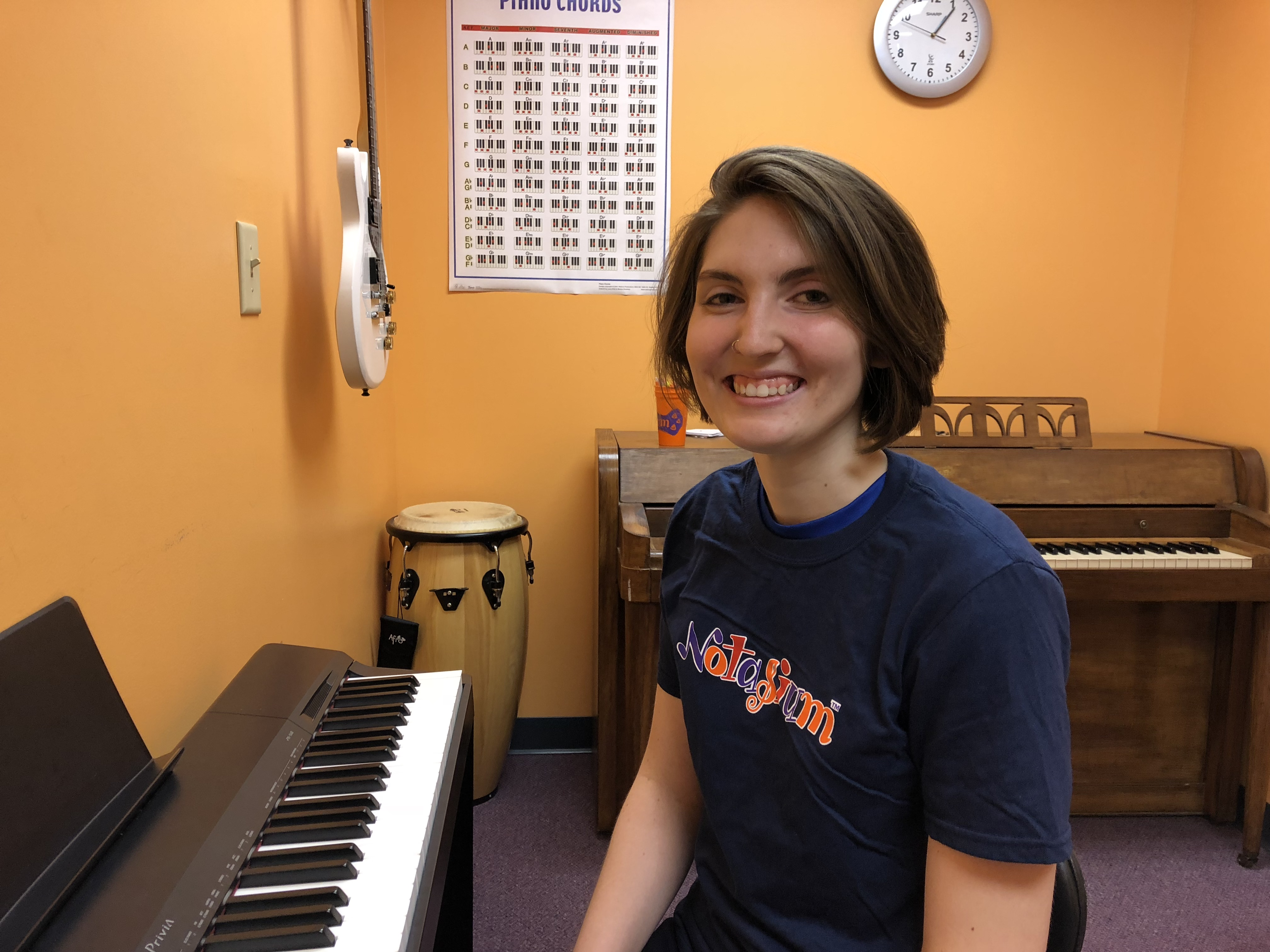Olivia - Piano and Vocal instructor